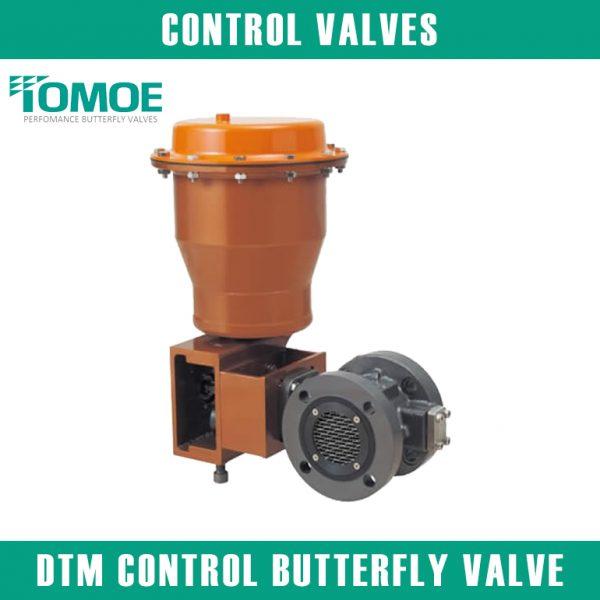 DTM CONTROL BUTTERFLY VALVE