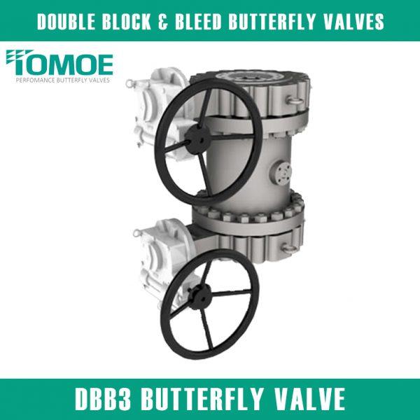 DBB3 BUTTERFLY VALVE