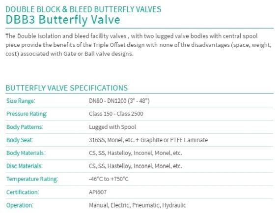 DBB3 BUTTERFLY VALVE_big