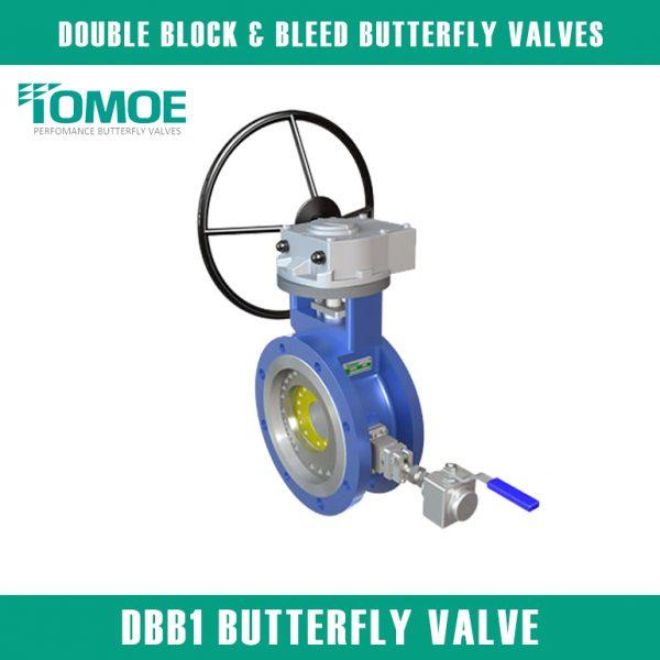 DBB1 BUTTERFLY VALVE